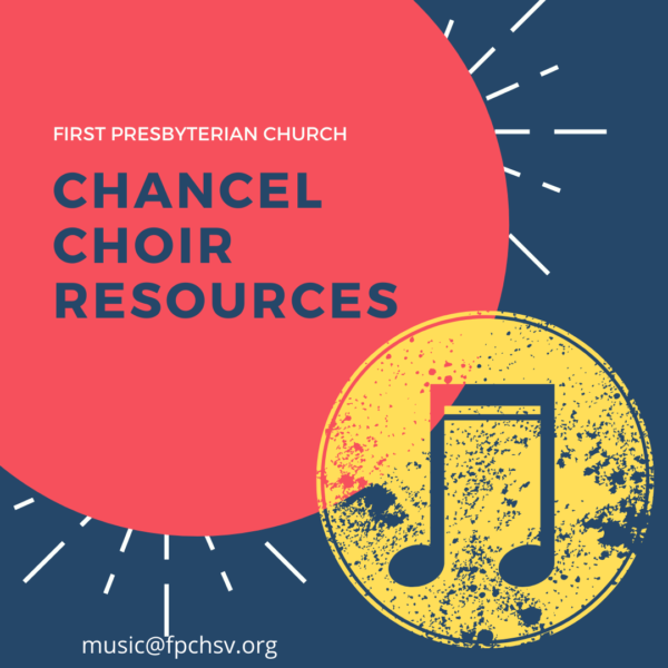 Chancel Choir Resources